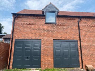 New Garage Doors For New Build