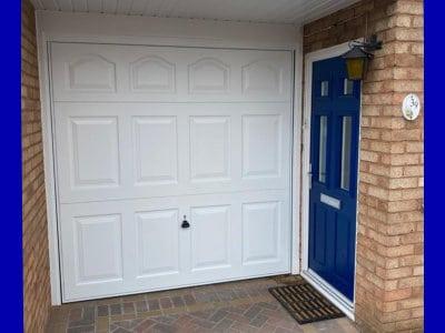 New Composite Door New Garage Door